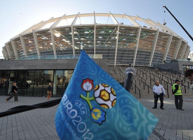 Stadion Olimpijski w Kijowie /AFP