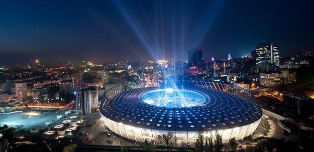 Stadion Olimpijski w Kijowie /PAP/EPA