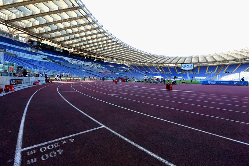 Stadion Olimpijski w Rzymie. W 2021 roku mityng Diamentowej Ligi ma odbyć się tam 4 czerwca /Paolo Bruno /Getty Images