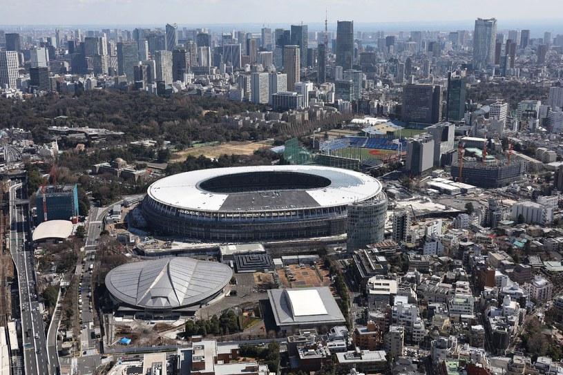 Stadion olimpijski w Tokio, a obok Tokyo Metropolitan Gymnasium, gdzie odbędzie się turniej tenisa stołowego /AFP