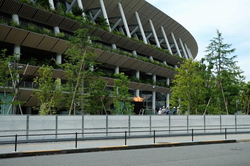 Stadion olimpijski w Tokio /AFLO/NEWSPIX.PL /Newspix