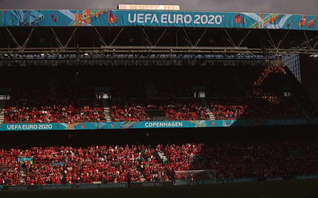 Stadion Parken w Kopenhadze. / FRIEDEMANN VOGEL / POOL /PAP/EPA