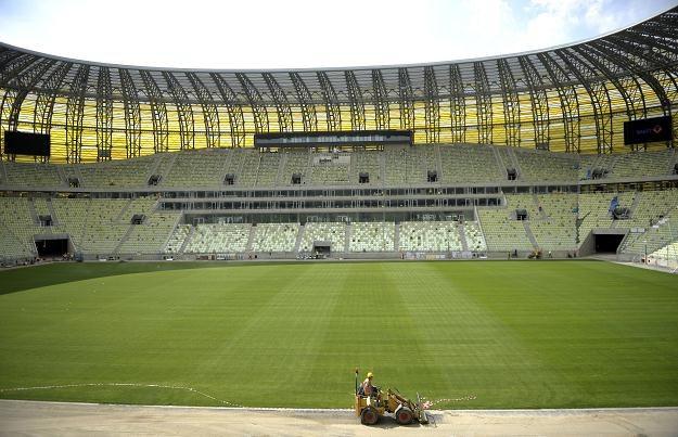 Stadion PGE Arena w Gdańsku Fot. Adam Warżawa /PAP