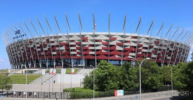 Stadion PGE Narodowy w Warszawie. /RMF FM