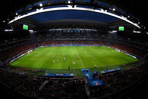 Stadion Pierre Mauroy w Lille. Fot. Mike Hewitt /Getty Images/Flash Press Media