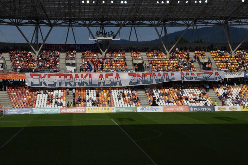 Stadion Podbeskidzia Bielsko-Biała /Łukasz Klimaniec /East News