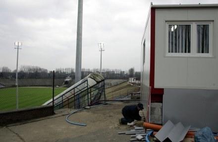 Stadion Polonii jest modernizowany/fot. Irek Dorożański /Agencja Przegląd Sportowy