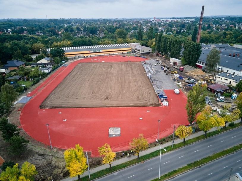 Stadion RKS Łódź /materiały prasowe