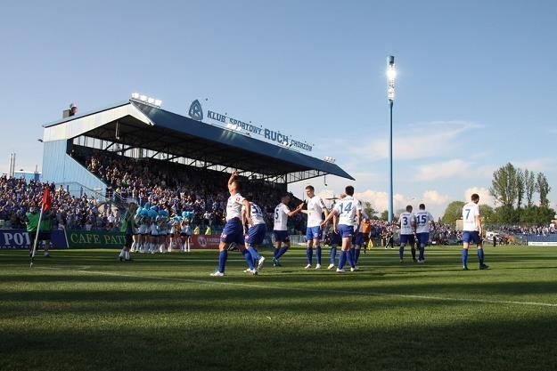 Stadion Ruchu Chorzów zbudowano w 1935 roku. Fot. Adrian Slazok /Reporter