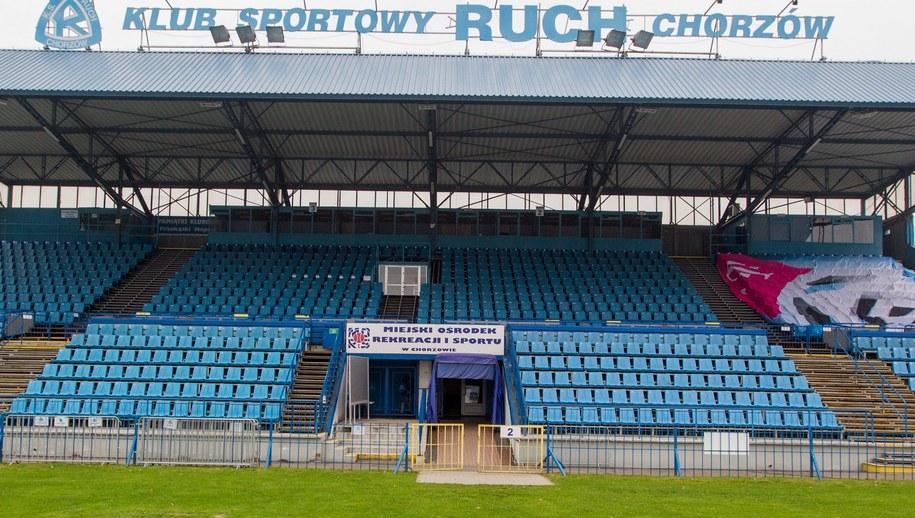 Stadion Ruchu Chorzów /Andrzej Grygiel /PAP
