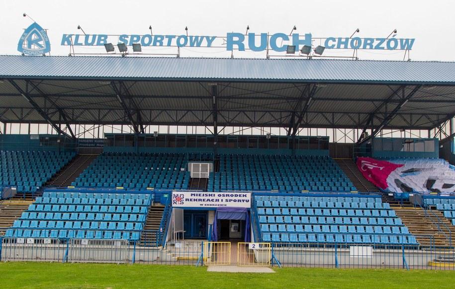 Stadion Ruchu Chorzów / Andrzej Grygiel    /PAP