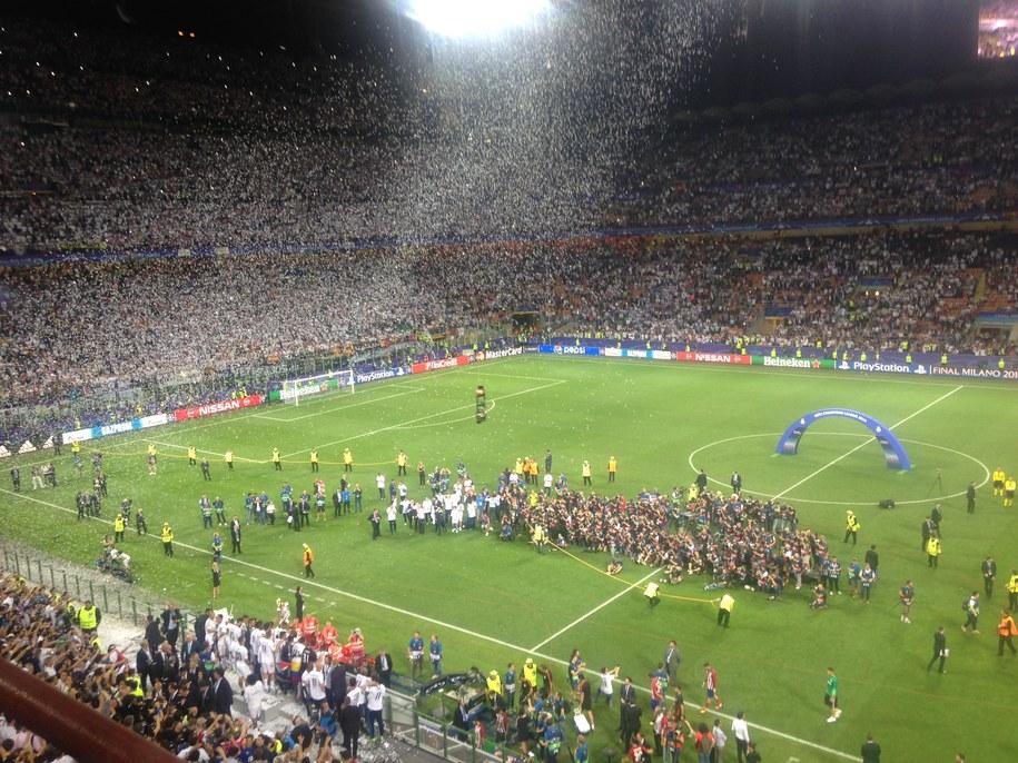 Stadion San Siro /Jan Kałucki  /RMF FM
