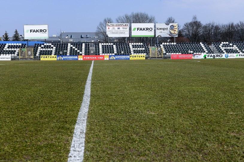Stadion Sandecji Nowy Sącz /MICHAL STANCZYK / CYFRASPORT / NEWSPIX.PL /Newspix