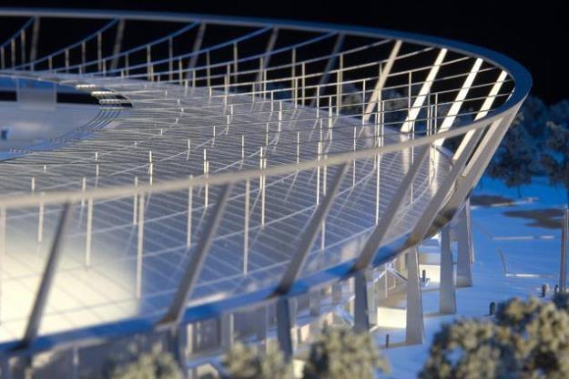 Stadion Śląski: Trzeba dołożyć 35 milionów złotych... Nz. projekt zadaszenia /Informacja prasowa