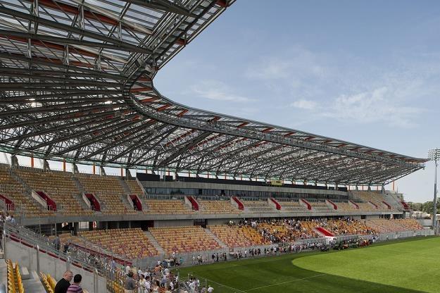 Stadion w Biazmstoku. Fot. Michał Kosc AGENCJA WSCHÓD /Reporter