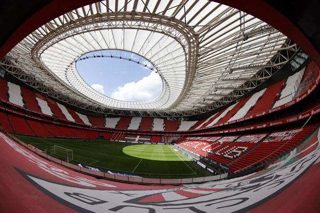 Stadion w Bilbao /LUIS TEJIDO  /PAP/EPA