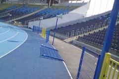 Stadion w Bydgoszczy po burdach pseudokibiców