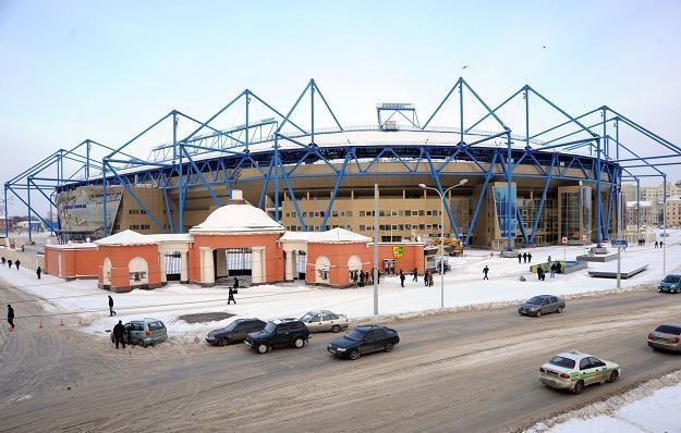 Stadion w Charkowie. /AFP
