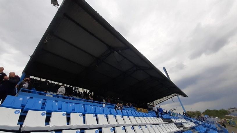 stadion w Chorzowie podczas meczu Ruch Chorzów z ROW-em 1964 Rybnik /Paweł Czado /INTERIA.PL