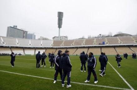 Stadion w Kijowie /AFP