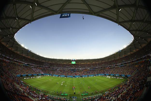Stadion w Manaus (Brazylia). fot. Warren Little /Getty Images/Flash Press Media
