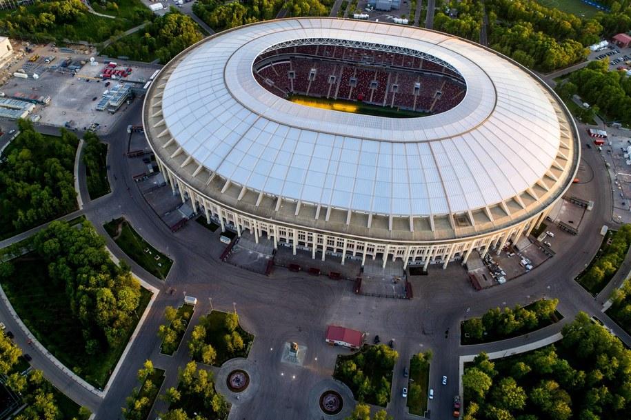 Stadion w Moskwie / Sergei Bobylev/TASS /PAP/EPA