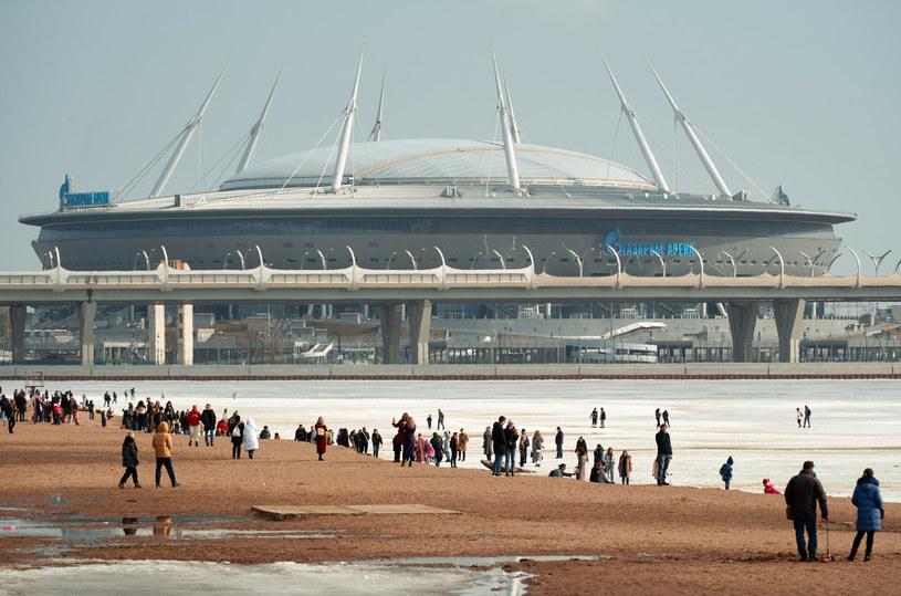 Stadion w Sankt Petersburgu /Alexei Danichev/SPUTNIK Russia/East News /East News