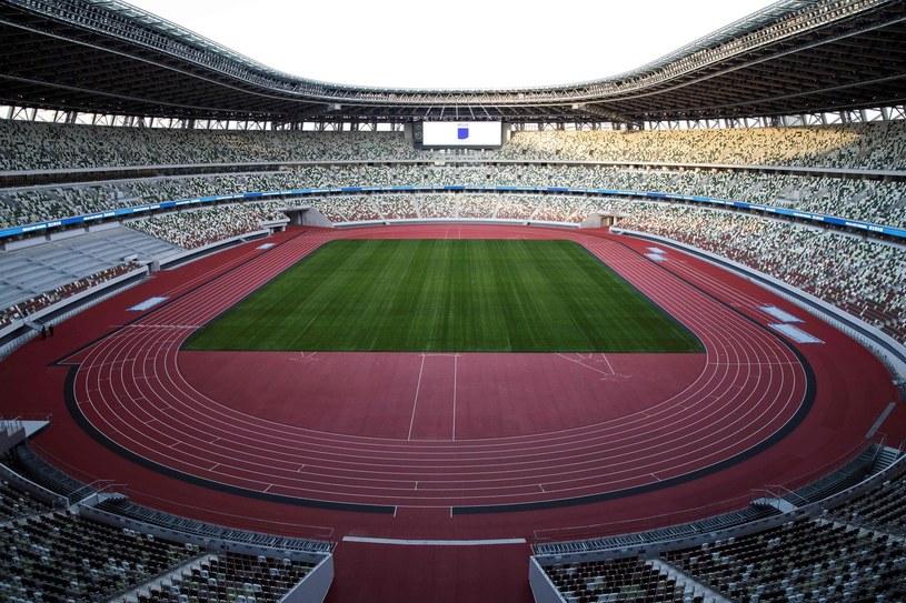 Stadion w Tokio - główna arena igrzysk olimpijskich w 2020 roku /AFP
