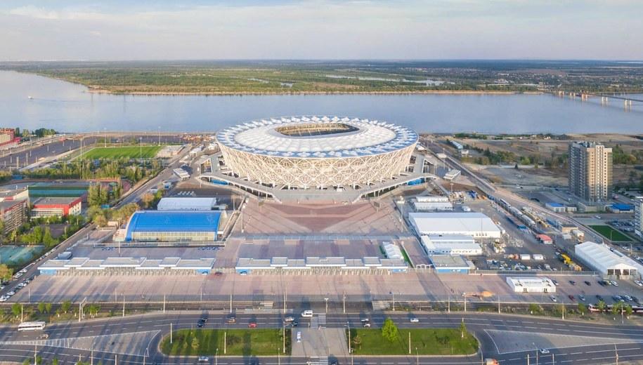 Stadion w Wołgogradzie /AirPano LLC /PAP/EPA