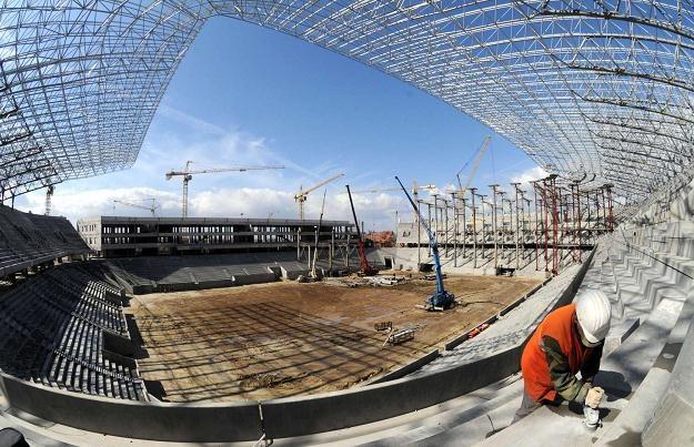 Stadion we Lwowie ma być gotowy 15 listopada tego roku /AFP