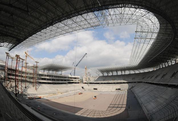 Stadion we Lwowie ma być gotowy 29 października /AFP