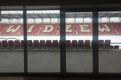 Stadion Widzewa od kuchni