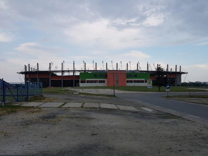 Stadion Zagłębia Lubin /Jakub Olkiewicz /INTERIA.PL
