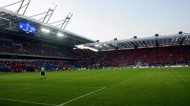 Stadiony ekstraklasy (na zdjęciu obiekt Wisły) odwiedziło aż 2,5 mln kibiców. Fot. Artur Barbarowski /Agencja SE/East News