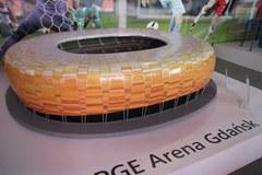 Stadiony na Euro 2012 w skali 1:100