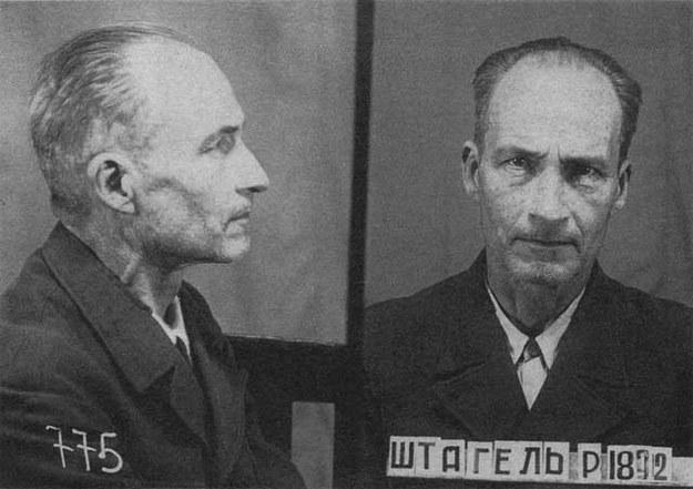 Stahel zmarł w 1955 r. w rosyjskim łagrze na atak serca /