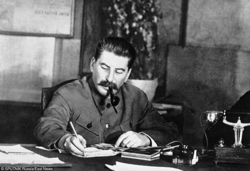 Stalin w swoim gabinecie, zdj. ilustracyjne /East News