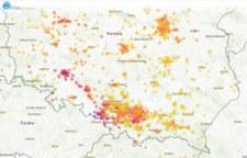 Stan powietrza 17.01.2020. Smog spowił wiele miejscowości w Polsce