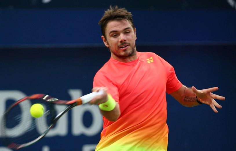 Stan Wawrinka zagra w finale w Dausze /AFP