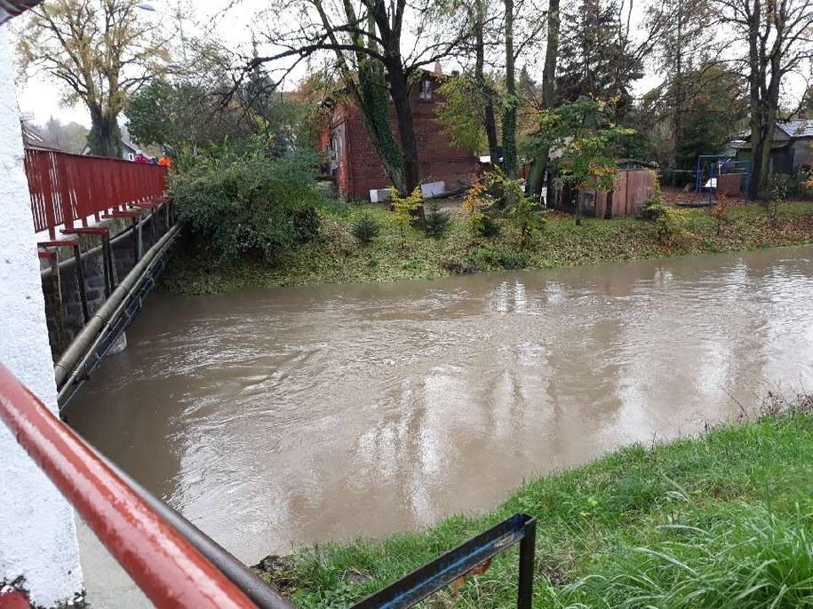 Stan wody w rzece w Pasłęku niebezpiecznie się podnosi /Gorąca Linia RMF FM