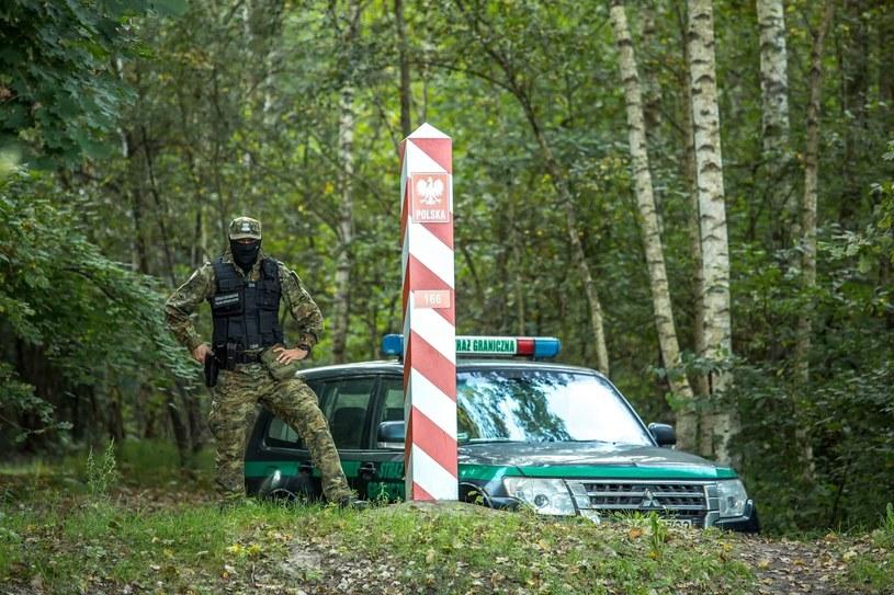 Stan wyjątkowy przy granicy z Białorusią obejmuje 183 miejscowości i został wprowadzony 2 września /Straż Graniczna /Archiwum