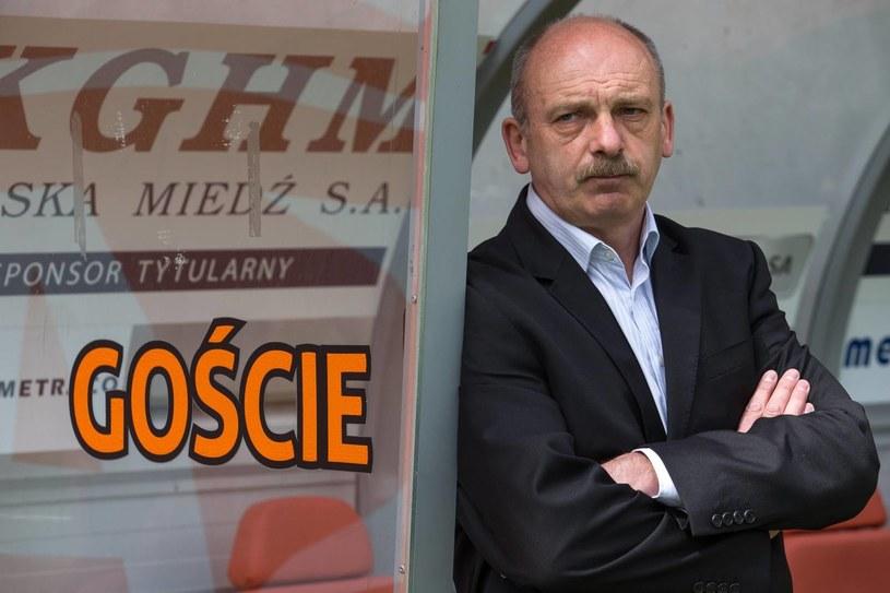 Stanislav Levy wierzy w to, że jego Śląsk zdobędzie Puchar Polski. /Maciej Kulczyński /PAP
