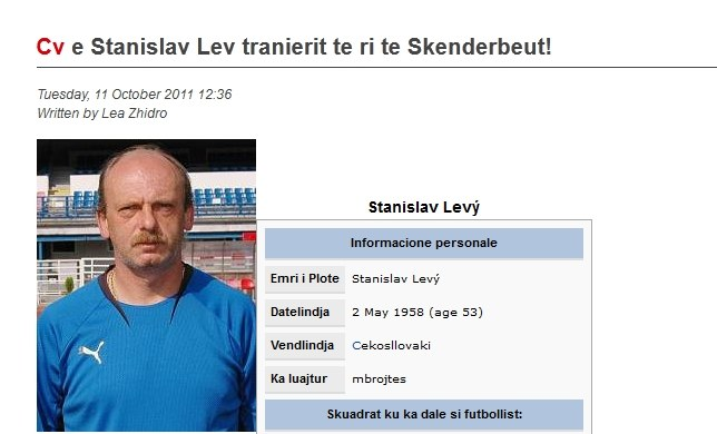 Stanislav Levy /Internet