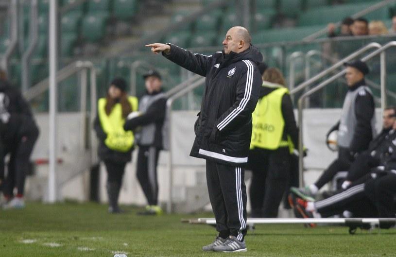 Stanisław Czerczesow jako trener warszawskiej Legii /AFP