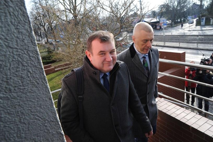 Stanisław Gawłowski i Roman Giertych /Agencja SE /East News