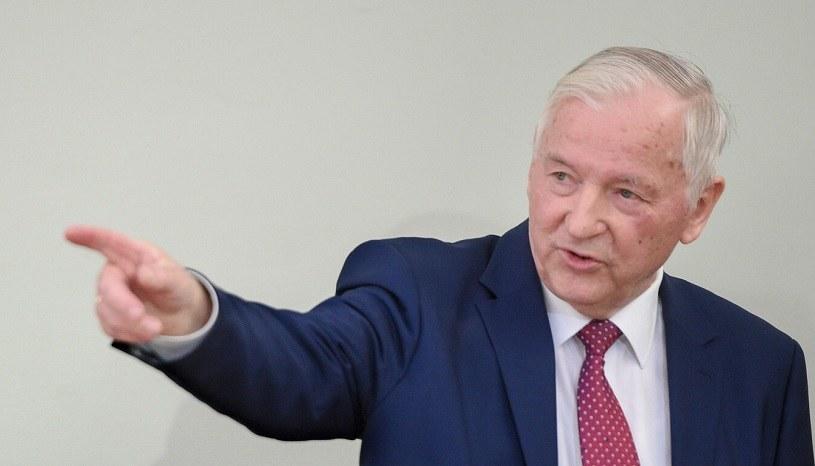 Stanisław Gomułka, b. wiceminister finansów, główny ekonomista BCC /Zbyszek Kaczmarek /Reporter
