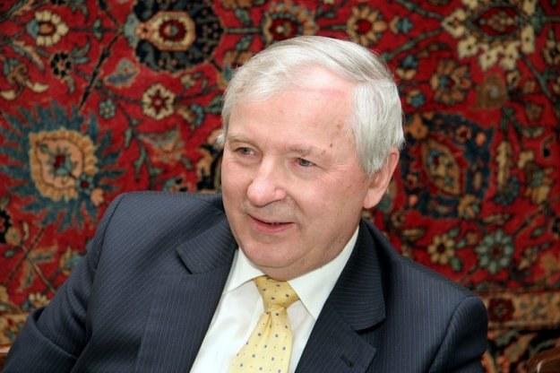 Stanisław Gomułka, ekonomista /fot. Stefan Zubczewski /Reporter