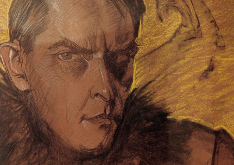 Stanisław Ignacy Witkiewicz (Witkacy), Autoportret, 1927, pastel, papier /reprodukcja /PAP