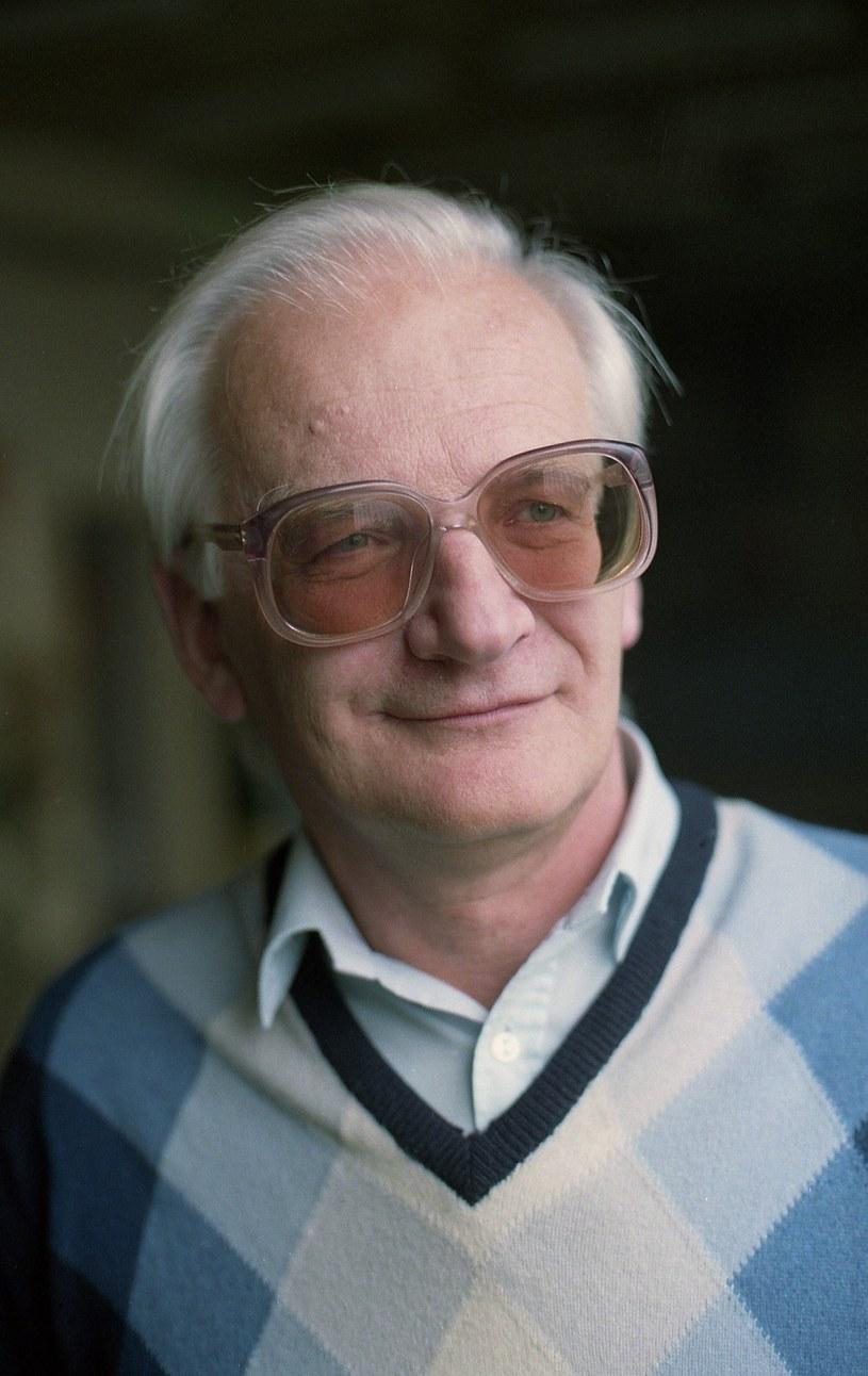 Stanisław Janicki w 1993 roku /Marek Szymański /Reporter
