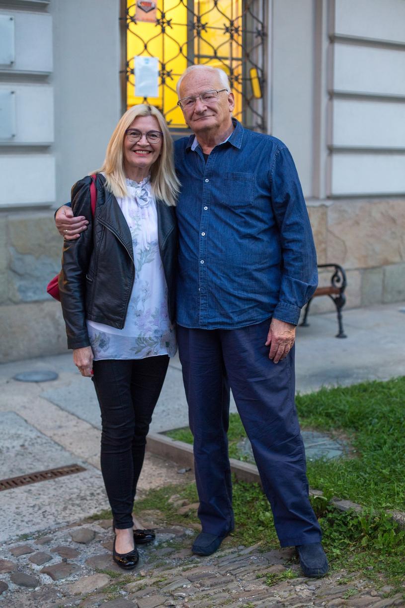 Stanisław Janicki z żoną /Kasia Zaremba /East News